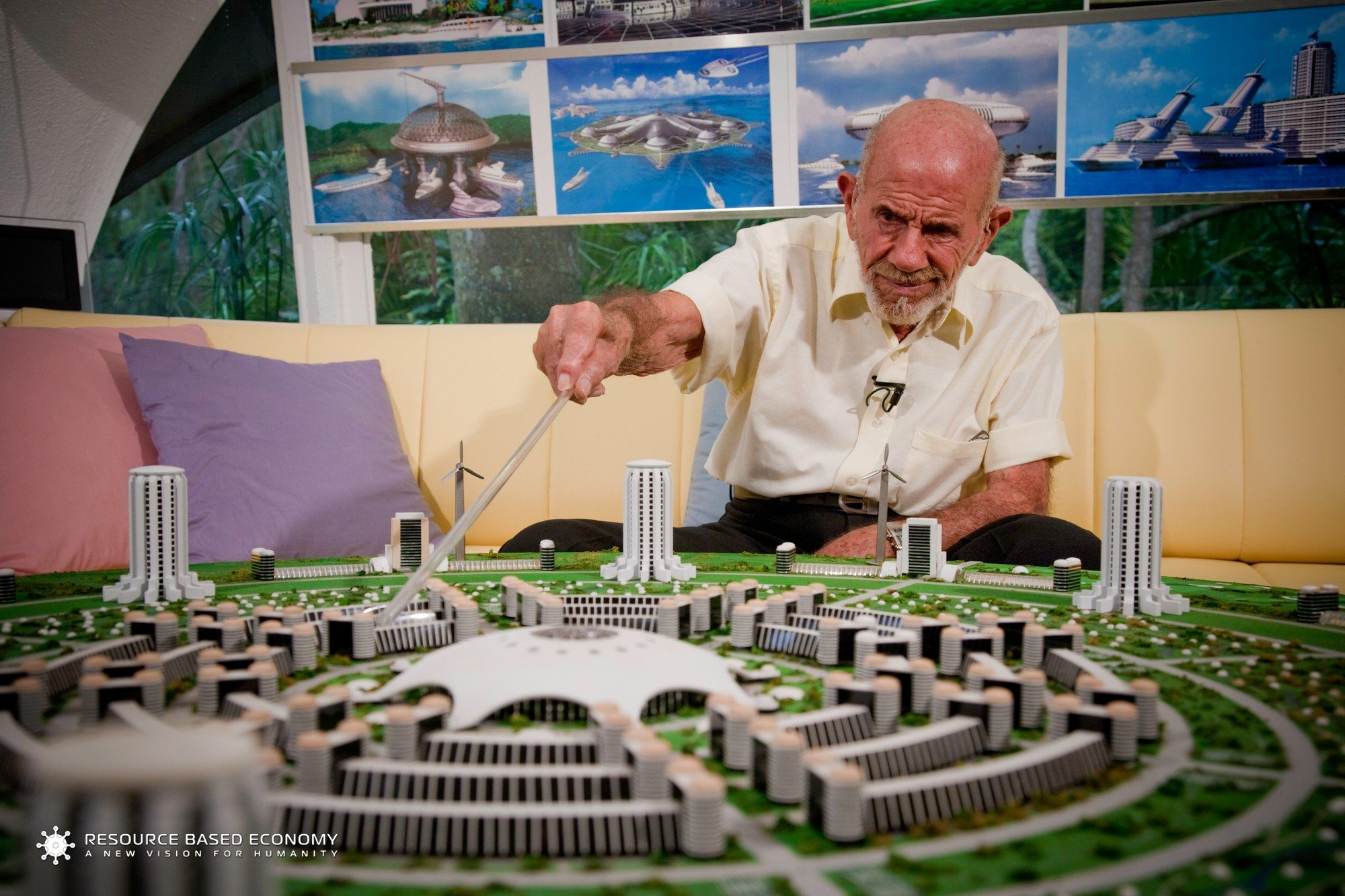 Jacque Fresco - City Model